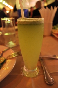 Lemon Mint - the drink we were told we had to drink at dinner!
